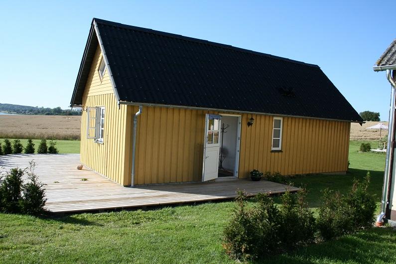 Das Ferienhaus Süd ist ein kleines Häuschen mit Platz für 4-5 Personen