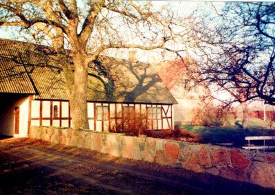 Lejligheder før ombygning set fra havesiden