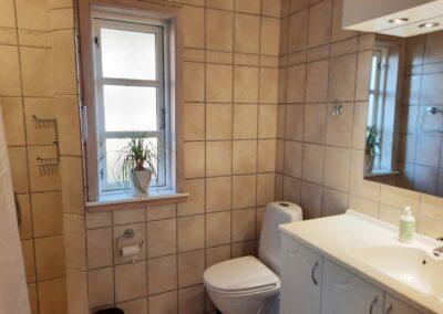 Badeværelset i sommerhus