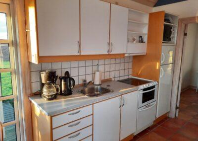 Køkkenet i sommerhus